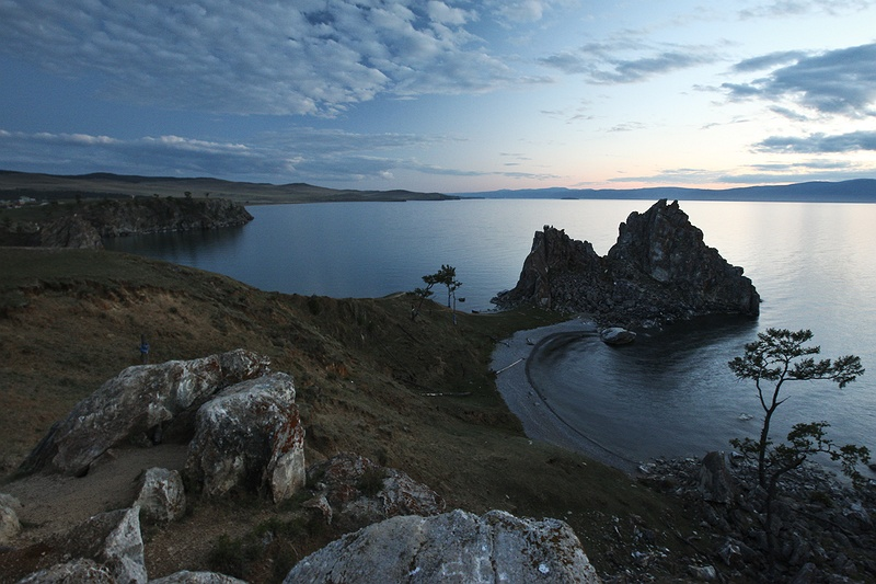 Shamans rock near the village Khuzhir on Olkhon Island is now a popular destination for tourists. Baikal and it's surrounding area has 1,200 sites of cultural, historical and archaeological interest.