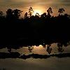 Sunrise over the peatland